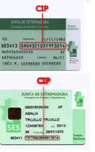 Tarjeta Sanitaria Extremadura Salud