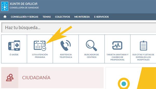 Cita m dico galicia sergas pedir citas 2018 - Pedir cita al medico de cabecera por internet ...