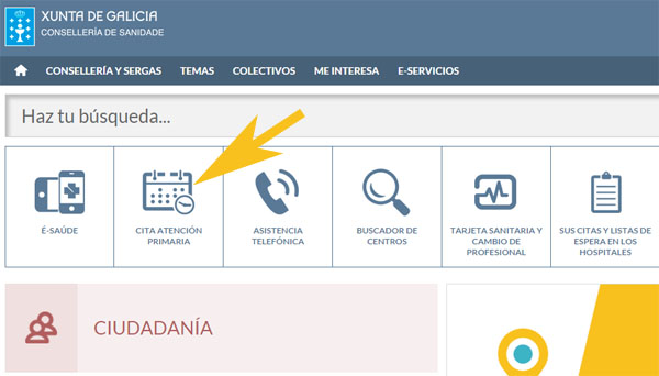 Cita m dico galicia sergas pedir citas 2018 - Para pedir cita para el medico de cabecera ...