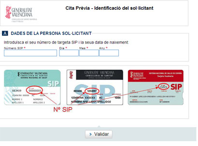 Cita previa m dico comunidad valenciana pedir citas 2018 - Internet en valencia ...